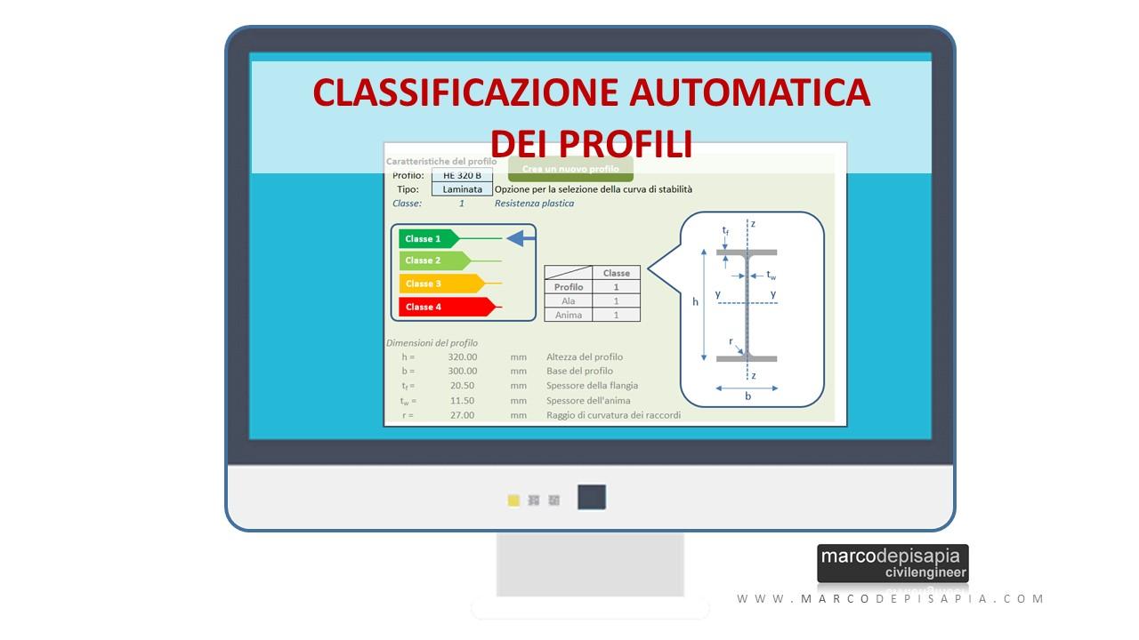 Ver.Steel premium: classe profili