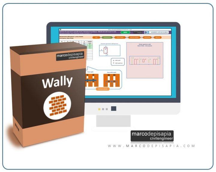 Wally app apertura vano in parete in muratura