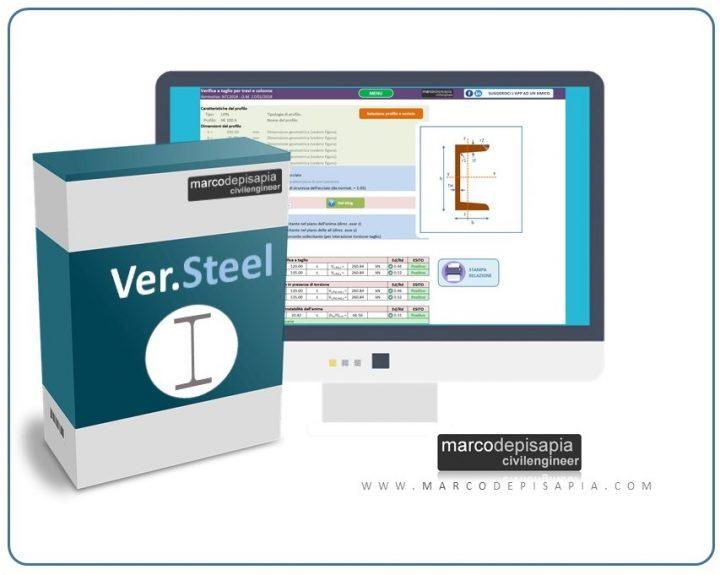 Ver.steel app verifica acciaio